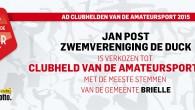 Beste stemmers en leden van zwemverenging De Duck, Na twee maanden van stemmen op Jan Post kunnen we als vereniging melden dat Jan Post Clubheld is geworden van de gemeente […]